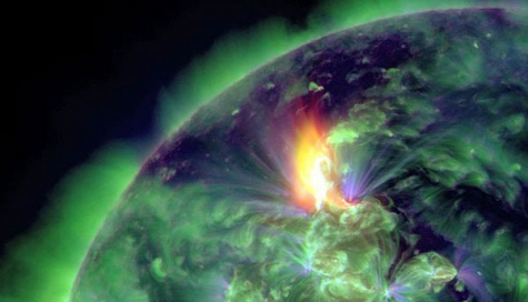 Solar-flare-2012-the-biggest-since-2005